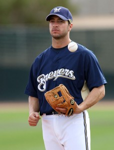 Ryan Braun threatens the Pirates